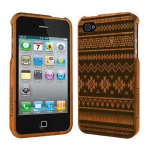 Inca Pattern - Coque Bois iPhone 5 /5s