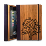 'Oak Tree' Coque iPad en Bois