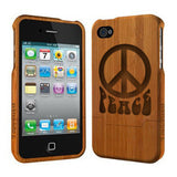 Peace - Coque Bois iPhone 5 /5s
