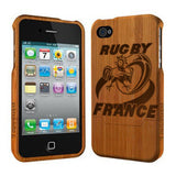 France Rugby - Coque Bois iPhone 5 /5s