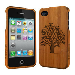 Oak Tree - coque bois iphone 4/4s