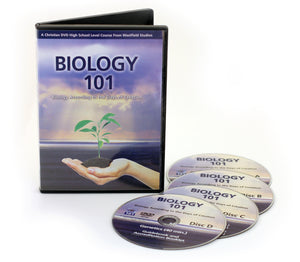 Biology 101 with 4 DVDs
