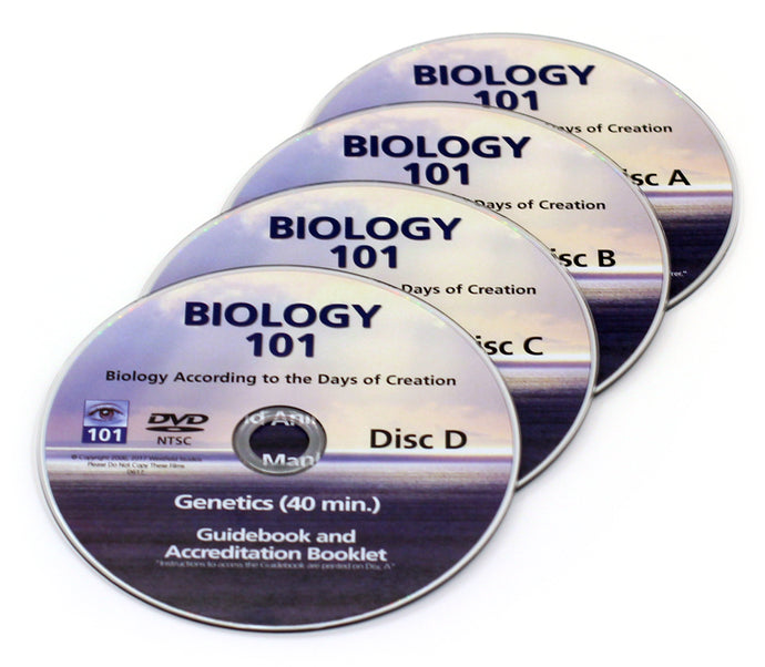 Biology 101 replacement DVDs