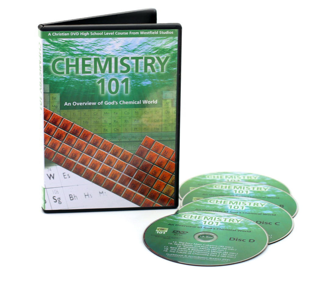Chemistry 101 with 4 DVDs