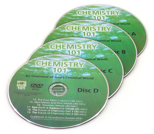 Chemistry 101 replacement DVDs