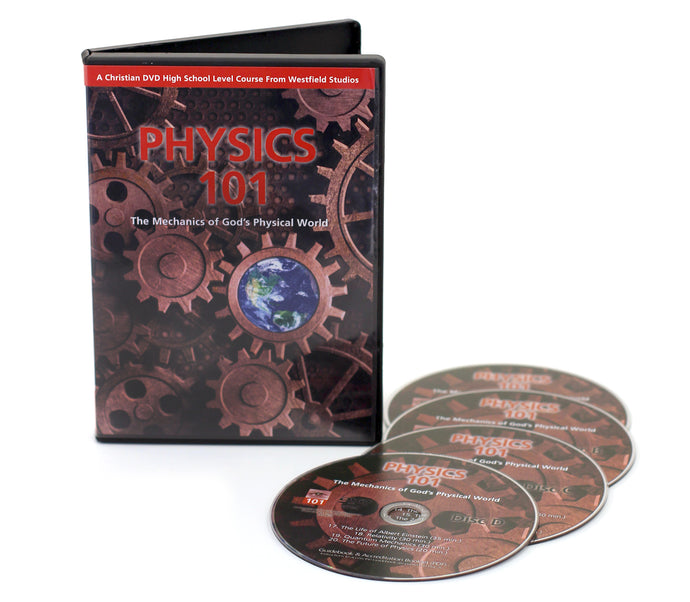Physics 101 with 4 DVDs