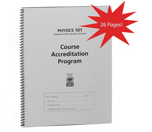Course Accreditation Program (Physics 101)