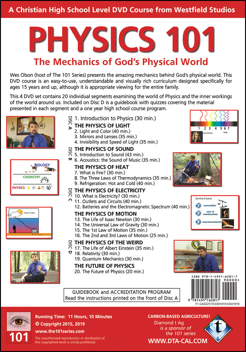 Physics 101 DVD Curriculum – The 101 Series
