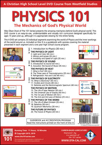 Physics 101 Back Cover