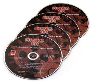 Physics 101 replacement DVDs