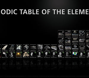 Periodic Table of the Elements black-2