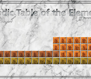 Periodic Table of the Elements wood-2