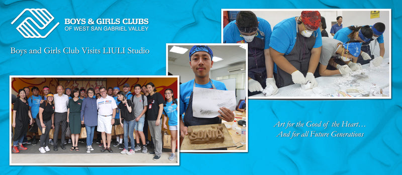 LIULI supported Boys and Girls Club