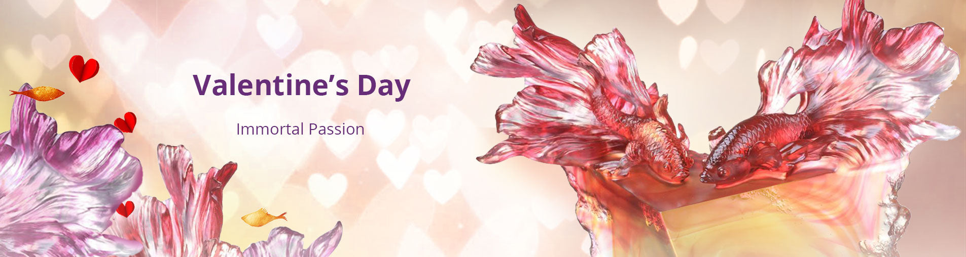 Valentines Day Chinese Crystal Art