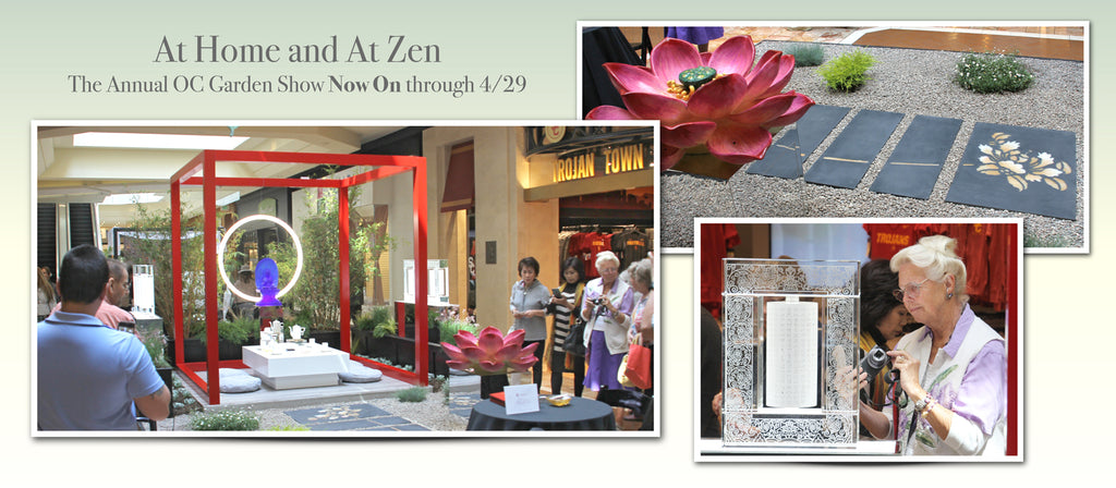 At Home And At Zen. Garden Of Zen