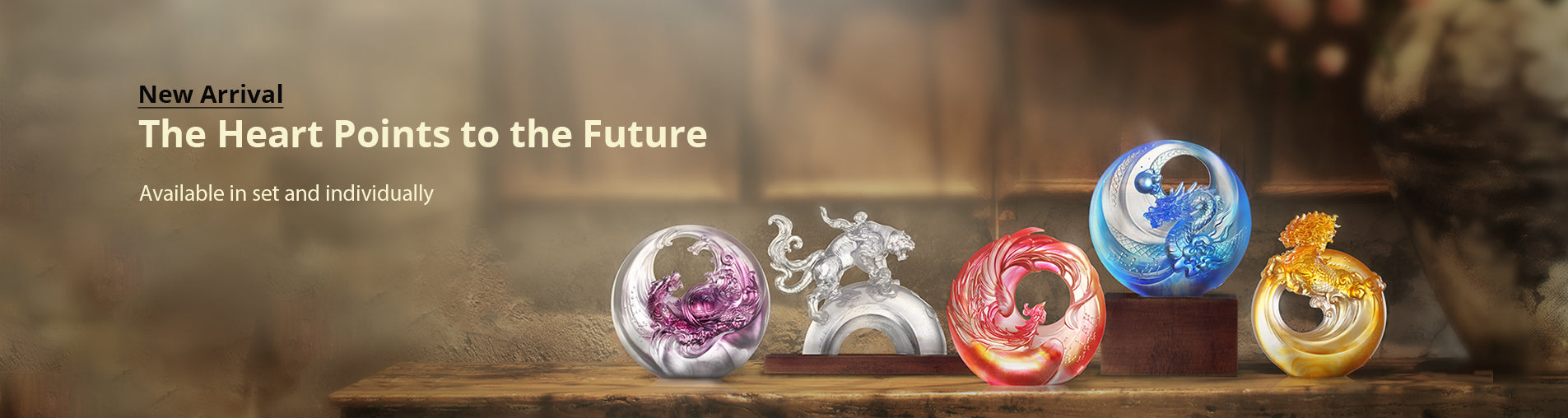 Mythical Creature Exhibition From Liuli Crystal Art