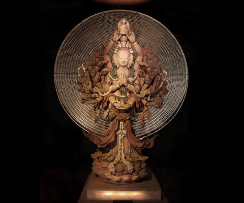 Click to Enlarge The Guanyin of Thousand Eyes and Arms