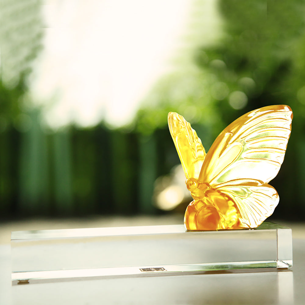 Crystal Butterfly, Wings of Hope - LIULI Crystal Art
