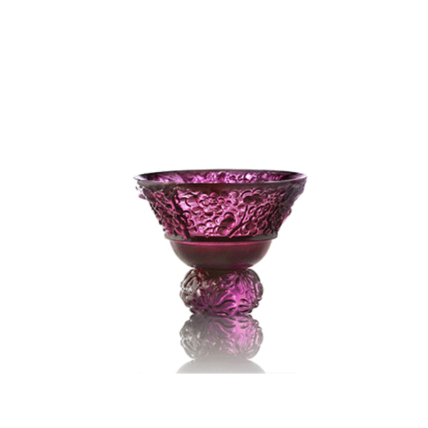 Virtuous Plum Blossom (A Drink to Virtue) - Sake Glass, Shot Glass (Single Cup)