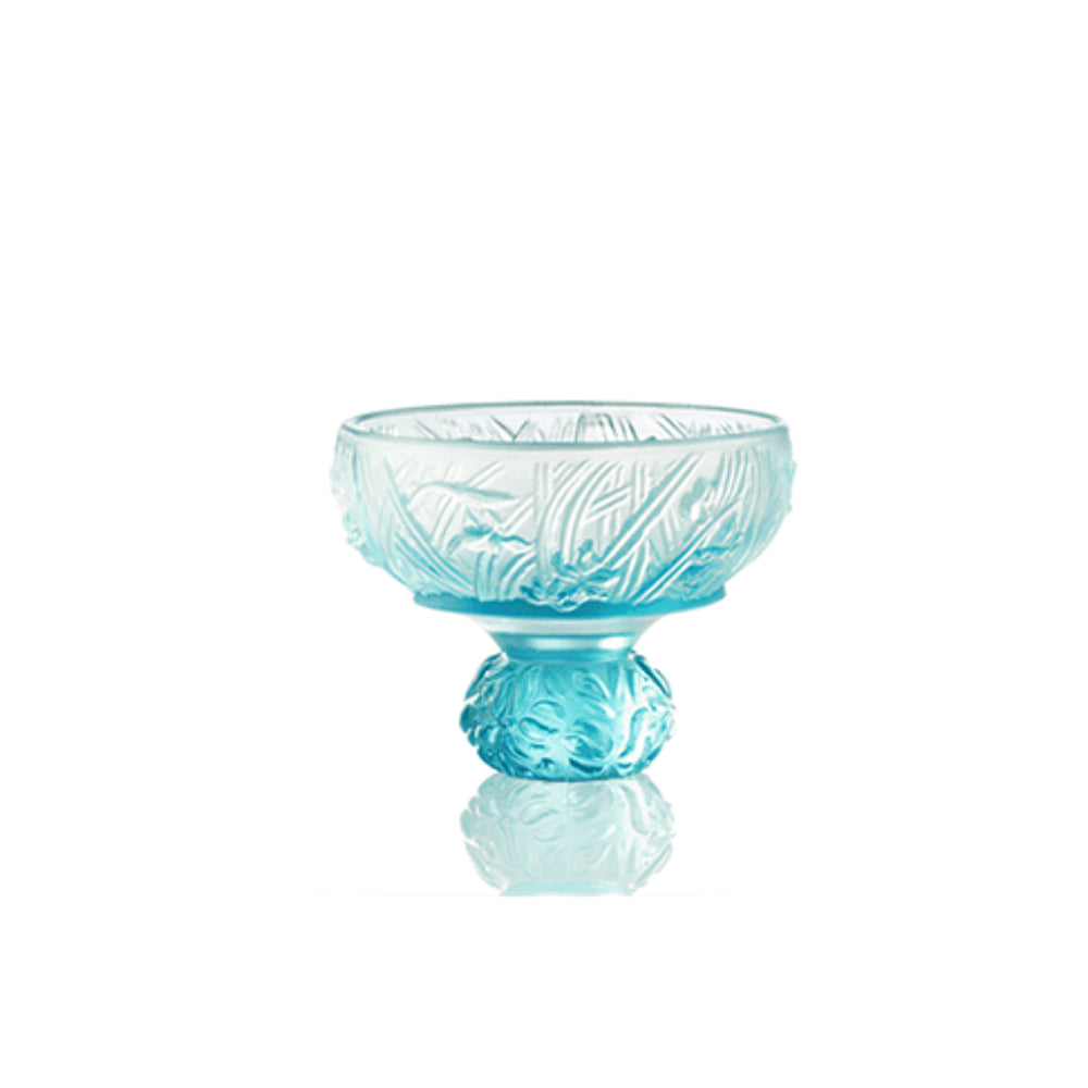 Virtuous Orchid (A Drink to Virtue) - Sake Glass, Shot Glass (Single Cup) - LIULI Crystal Art - [variant_title].
