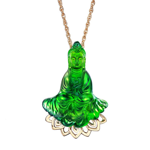 "Necklace (GuanYin, Benevolence) - ""The Eternal Force of Benevolence"""