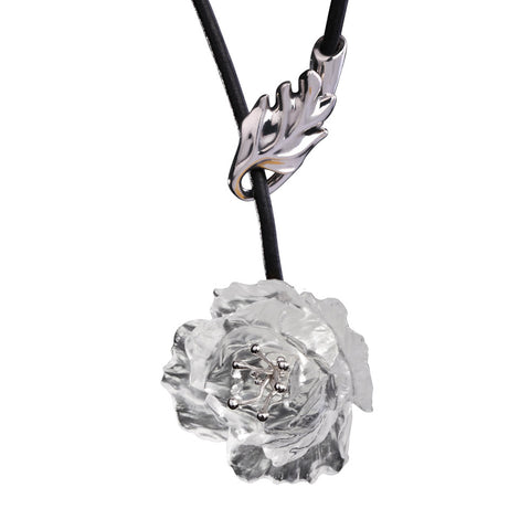 "Necklace (Flower, Be Your Own Self) - ""Give Yourself a Beautiful Name"""