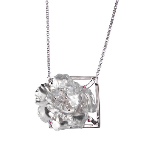 "Pendant Necklace (Confident) - ""Peony-The Confident Woman"""