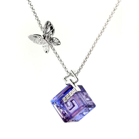 Necklace, Butterfly Figurine (With Love, Everything is Possible) - Gardens of Tuscany