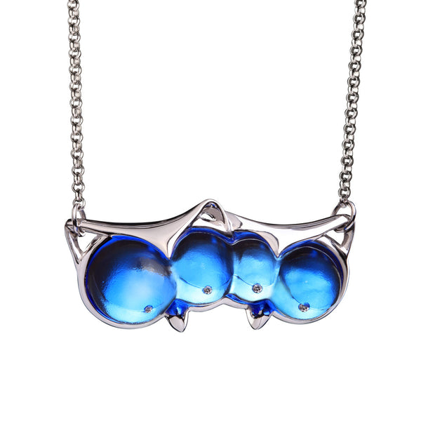 "Necklace (Love, You Are The One) - ""Eyes Only For You"" - LIULI Crystal Art 