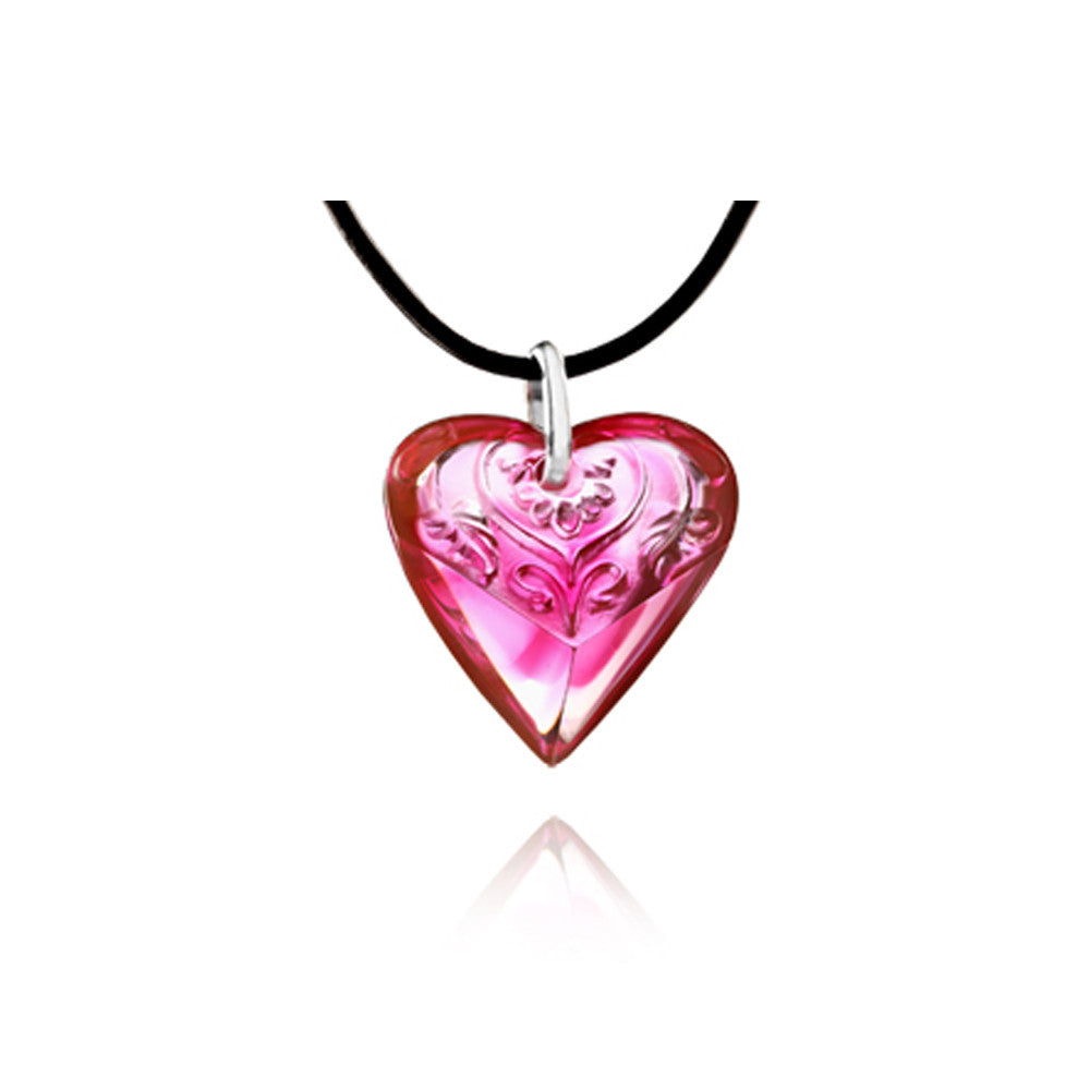 "Necklace (Love, Heart Shape) - ""Promise"""