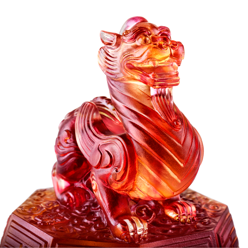 Crystal Mythical Creature, Tianlu, Commander of Peace - LIULI Crystal Art - [variant_title].