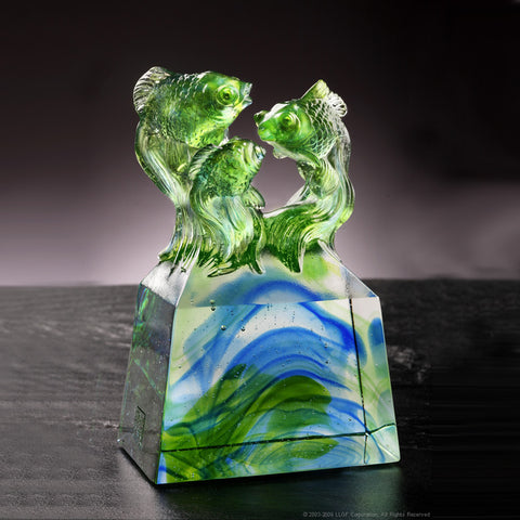 "Fish Figurine (Opportunity) - ""Vitality Created Together"""