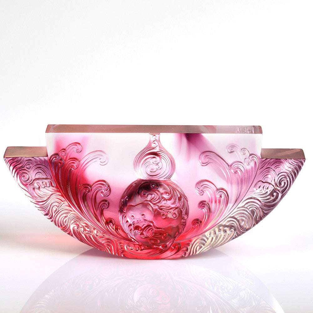 Harmony Permeates the Land (Symbolize Joy of Harmony) - The Beauty of Harmony - LIULI Crystal Art - [variant_title].