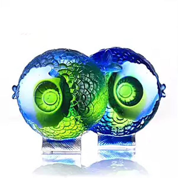 "Thinking of You - ""Beauty Is In the Eye of The Beholder"" - LIULI Crystal Art 
