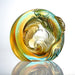 An Unfettered Pair (Harmony), Paperweight with Koi Fish Figurine - LIULI Crystal Art