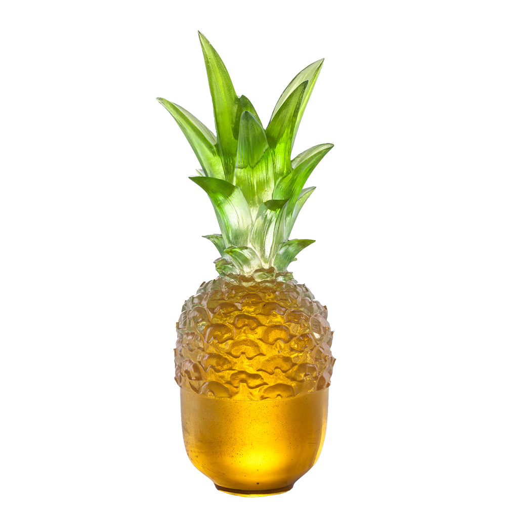 Flying High (Willpower) - Pineapple Figurine, Kitchen Decor - LIULI Crystal Art - [variant_title].