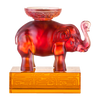 Crystal Animal, Elephant, Step by Promising Step - LIULI Crystal Art