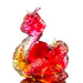 Happiness is to Embrace (Joyful Love) - Crystal Snake Figurine (Set of 2)