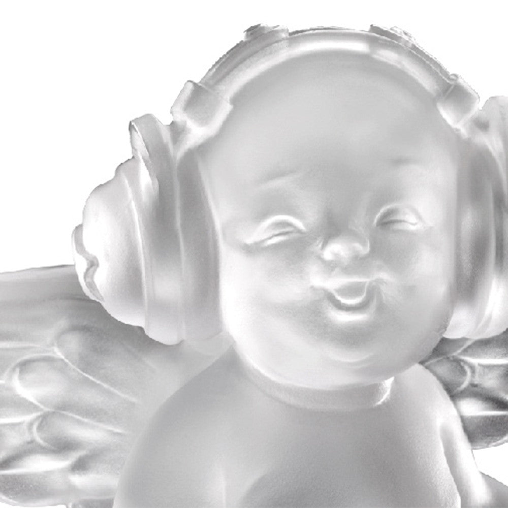 Crystal Angel, Joy of Music, Love is A Song - LIULI Crystal Art