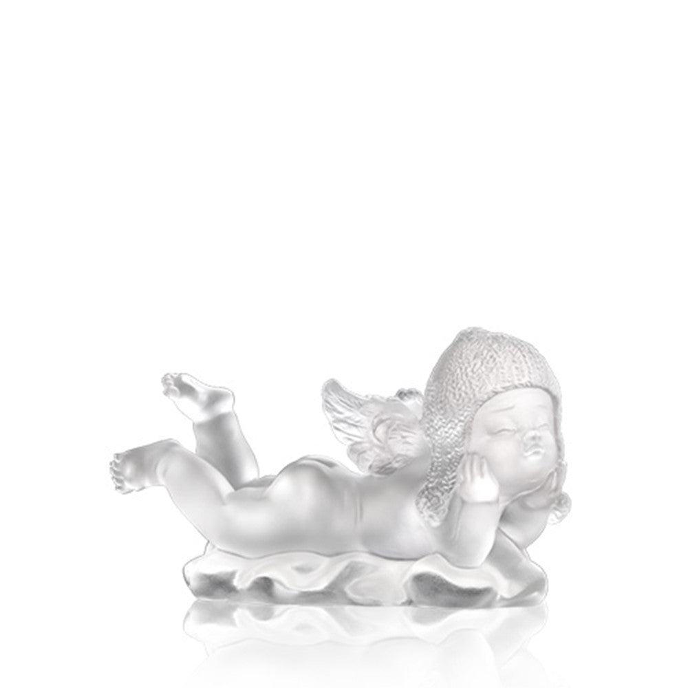 What a Wonderful World (Joy of Life) - Angel Figurine - LIULI Crystal Art | Collectible Glass Art