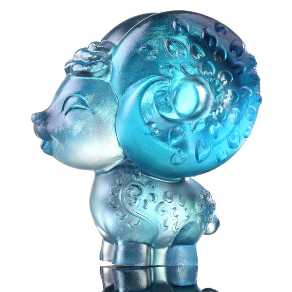 Dear (Lovable Me) - Sheep Figurine - LIULI Crystal Art