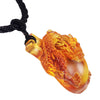 Dragon Pendant - The Sun Shines on the Dragon Within - LIULI Crystal Art - [variant_title].