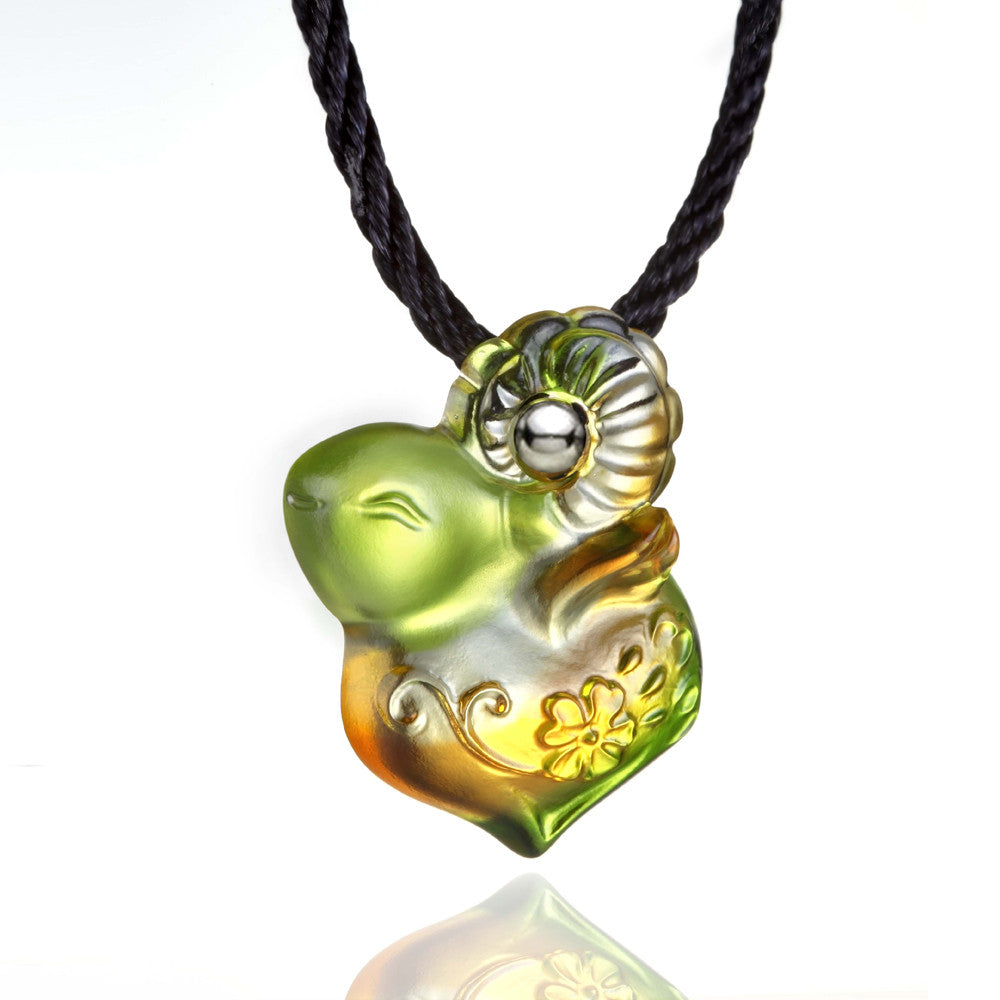 Pendant Neaklace, As I Wish - LIULI Crystal Art