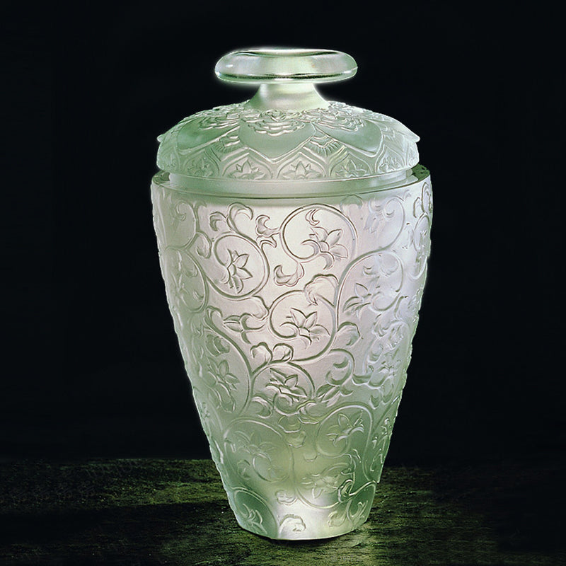 Treasure Vase Of Thousand Flowers - Crystal Vase - LIULI Crystal Art