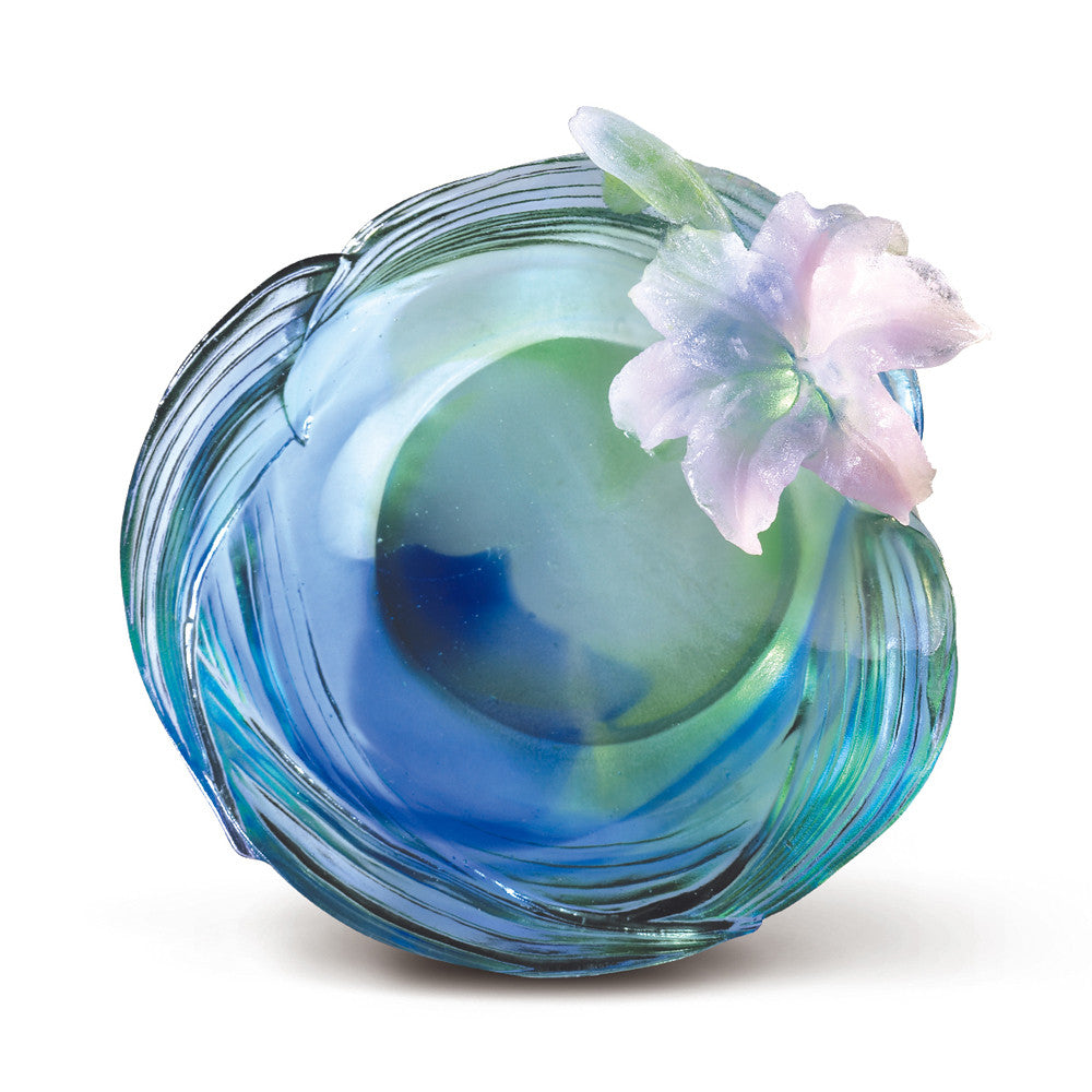 Crystal Flower, Flower of the Month, Lily-May - LIULI Crystal Art