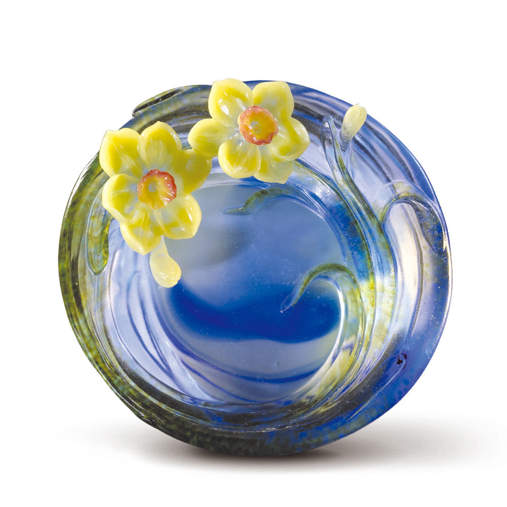 Crystal Flower, Flower of the Month, Narcissus-December - LIULI Crystal Art
