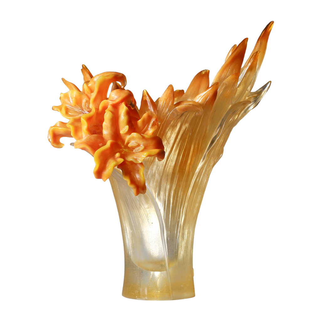 Crystal Flower, Lily Flower, Lily In Harmony - LIULI Crystal Art - [variant_title].