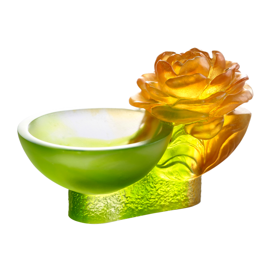 Crystal Flower, Camellia Bloom, Destined Harmony - LIULI Crystal Art - [variant_title].