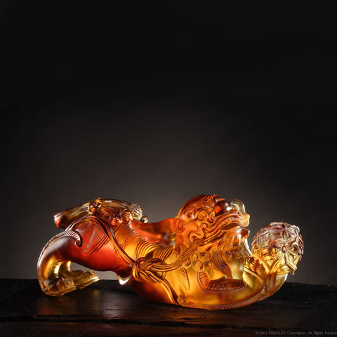 "Fu Dog (Foo Dog, Guardian Lion) - ""The Lucky Lion"""