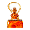 Crystal Mythical Creature, Pixiu, Welcoming Fortunes of this Vast World - LIULI Crystal Art